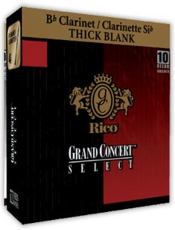 картинка RICO Grand Concert Bb Clarinet EVOLUTION 2,5x10 (RGE10BCL250) - Трости для кларнета Bb - 2.5, (10шт) от магазина Простор
